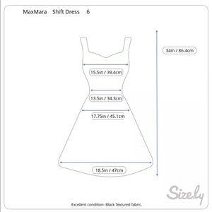 MaxMara Dresses - Max Mara Shift Dress Textured Exposed Seams 6